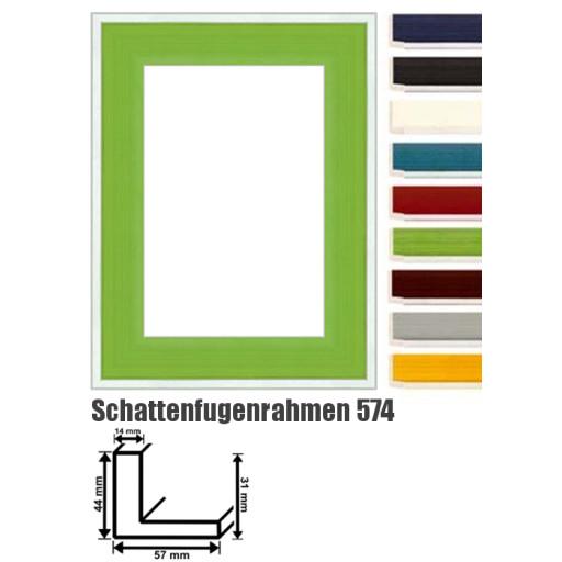 schattenfugenrahmen 574 bilderrahmen f r keilrahmen bilderrahmen. Black Bedroom Furniture Sets. Home Design Ideas