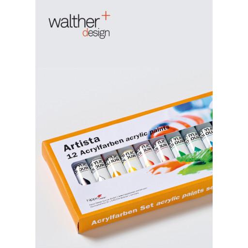 Acrylfarben 12er Set (12x 12ml)