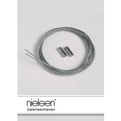Nielsen Stahlseile mit Schraubgleiter