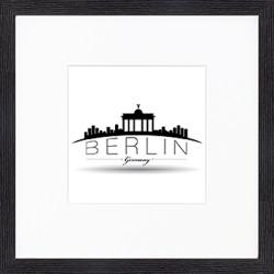 """Nielsen Gerahmtes Bild """"Berlin"""" 30,0 x 30,0 cm"""