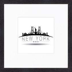 "Nielsen Gerahmtes Bild ""New York"" 30,0 x 30,0 cm"
