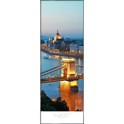 "Nielsen Gerahmtes Bild ""Budapest"" 52,0 x 150,0 cm"