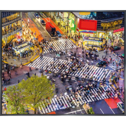 "Nielsen Gerahmtes Bild ""Tokyo Kreuzung"" 60,0 x 50,0 cm"