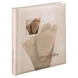 """Buchalbum """"Baby Feel"""", 29x32/60"""