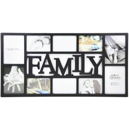 Collage-Rahmen Family 10 schwarz
