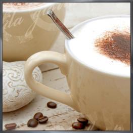 "Nielsen Gerahmtes Bild ""Coffee"" 30,0 x 30,0 cm"