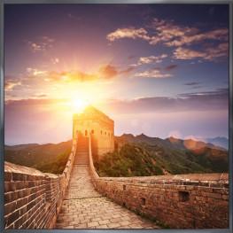 """Nielsen Gerahmtes Bild """"Chinesische Mauer"""" 30,0 x 30,0 cm"""