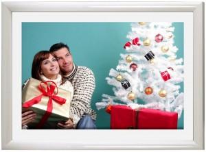 Bilderrahmen zu Weihnachten