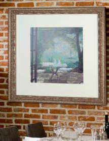 Öl und Acryl Leinwandbilder rahmen