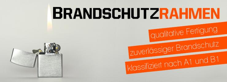 Brandschutzrahmen bei Bilderrahmenkauf24.de