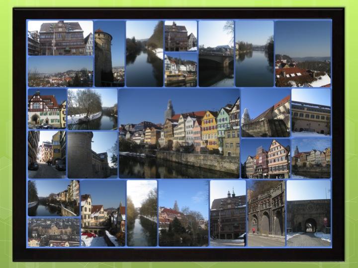 Collage Bilderrahmen