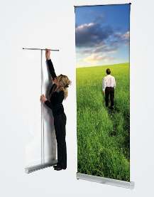 Roll Up Banner Classic von Visupro
