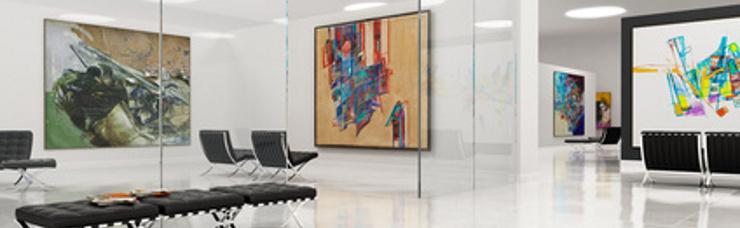 Galerien und Museen Objektausstattungen